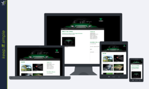 tinger.at website template